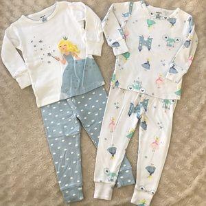 Carter's Princess Pajama Bundle Castle 12 Months